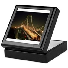 Oakland Bay Bridge Keepsake Box