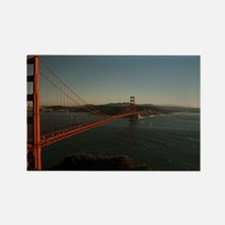 Golden Gate Bridge at dusk Rectangle Magnet
