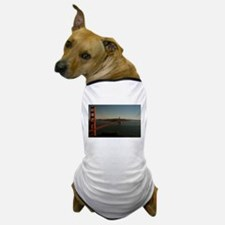 Golden Gate Bridge at dusk Dog T-Shirt