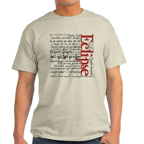 Eclipse Twilight Saga Movie Q Light T-Shirt