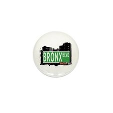 Bronx Blvd, Bronx, NYC Mini Button (100 pack)