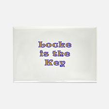 Locke is the Key Rectangle Magnet