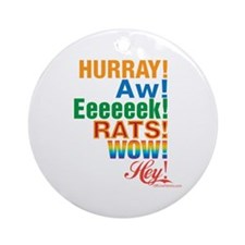 Interjections! Ornament (Round)