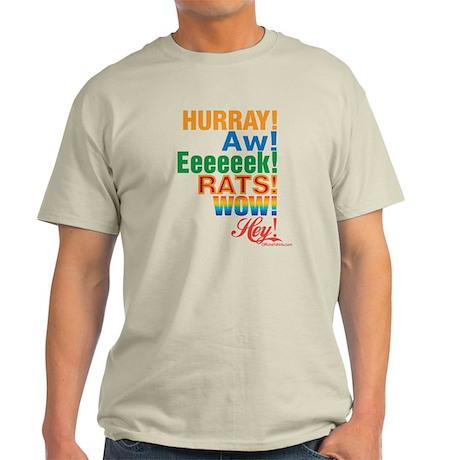 Interjections! Light T-Shirt