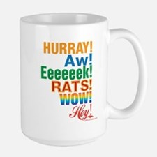 Interjections! Large Mug