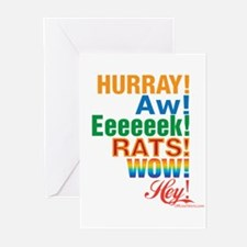 Interjections! Greeting Cards (Pk of 10)