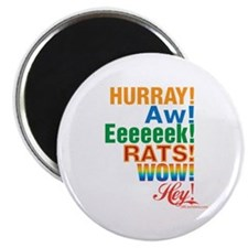 """Interjections! 2.25"""" Magnet (10 pack)"""