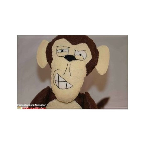 Rock My Monkey Business Card Magnet (100 pack)