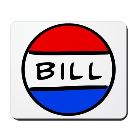 Bill Button Mousepad