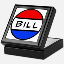 Bill Button Keepsake Box