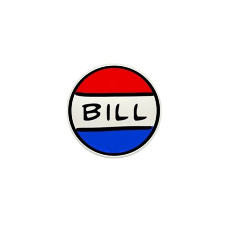 Bill Button Mini Button