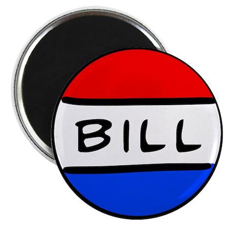"""Bill Button 2.25"""" Magnet (10 pack)"""