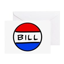 Bill Button Greeting Card