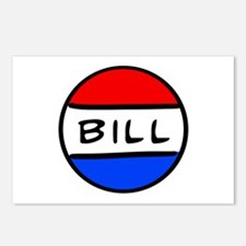 Bill Button Postcards (Package of 8)