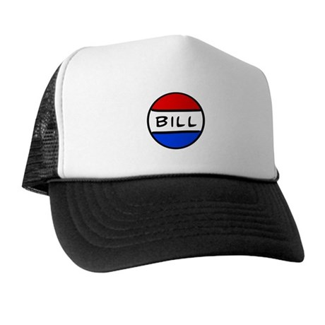 Bill Button Trucker Hat