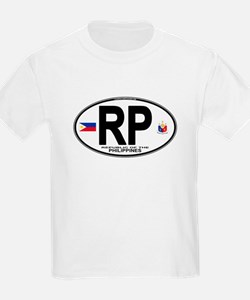 Philippines Euro Oval T-Shirt