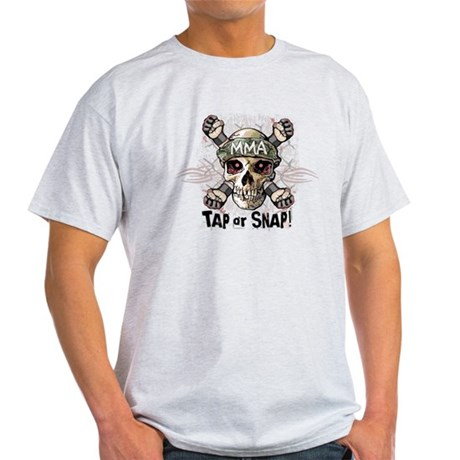Tap or Snap Tattoo Light T-Shirt