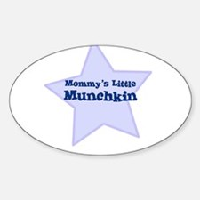 Mommy's Little Munchkin Oval Decal