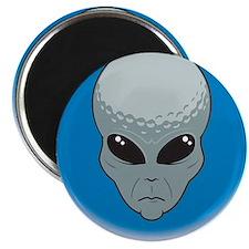 Alien Golf Magnet