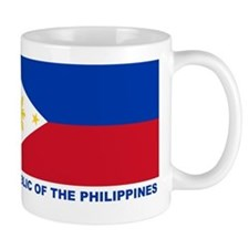 Philippines Flag (labeled) Mug