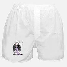 Tricolor Basset Playtime Boxer Shorts