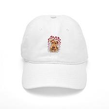 Airedale Terrier Hearts Baseball Cap