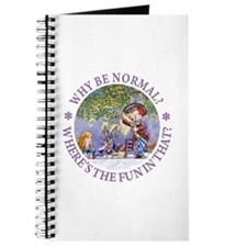 MAD HATTER - WHY BE NORMAL? Journal