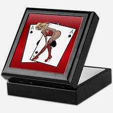 Ace Of Spades Card Box