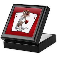 Ace Of Hearts Card Box