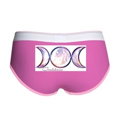 Triple Moon Goddess Women's Boy Brief