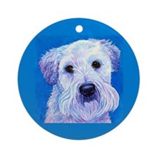Wheaten Terrier Ornament