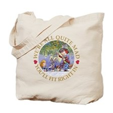 MAD HATTER'S TEA PARTY Tote Bag