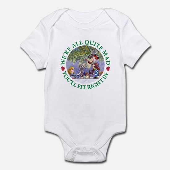 MAD HATTER'S TEA PARTY Infant Bodysuit
