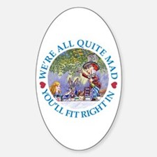 MAD HATTER'S TEA PARTY Decal