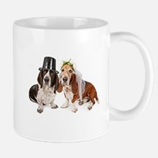 Basset Wedding Mug