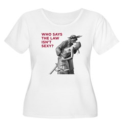 Who Says Plus Size T-Shirt (front & back)