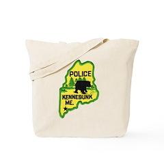 Kennebunk Maine Police Tote Bag
