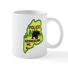 Kennebunk Maine Police Mug
