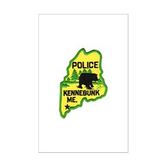 Kennebunk Maine Police Posters
