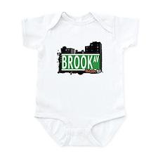 Brook Av, Bronx, NYC Infant Bodysuit