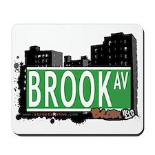 Brook Av, Bronx, NYC Mousepad