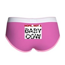 Great Dane Not a Baby Cow Women's Boy Brief