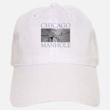 Chicago Manhole Baseball Baseball Cap