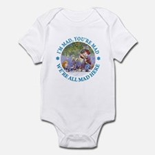 I'M MAD, YOU'RE MAD Infant Bodysuit