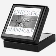 Chicago Manhole Keepsake Box