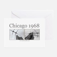 Chicago 1968 Greeting Cards (Pk of 10)