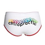 Chiropractic Ladies Boy Shorts
