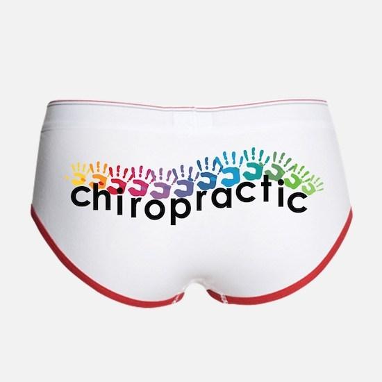 Chiropractic Hands Women's Boy Brief