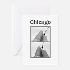 Chicago Lights Greeting Cards (Pk of 10)