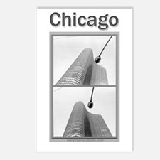 Chicago Lights Postcards (Package of 8)